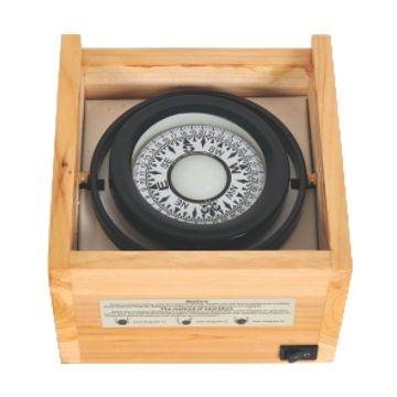 Imagem de Bússola  - Caixa de madeira
