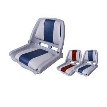 Imagem de Cadeira para embarcação 75109 Cinza e Azul Cod.1738