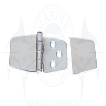 Imagem de Dobradiça 6 furos com capa - Cod.232-1153