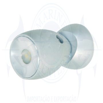 Imagem de Luminária de leitura 12V LED Branco - Cod.1085