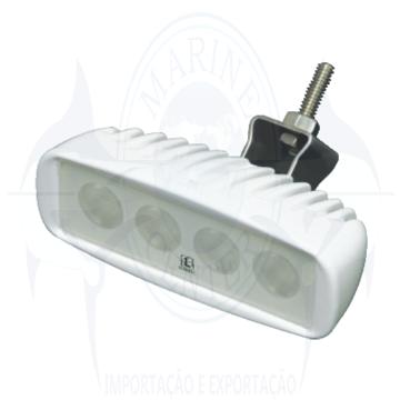 Imagem de Refletor caprera 12V-24V  para deck - LED Branco - Cod.1078