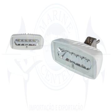 Imagem de Refletor caprera 12V-24V para deck - LED Branco/Azul - Cod.2554