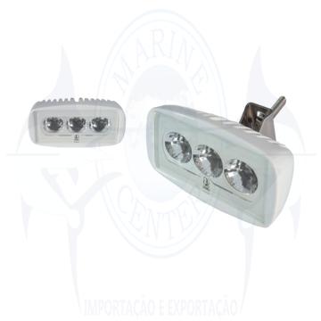 Imagem de Refletor caprera 12V-24V para deck LED branco - Cod.2555