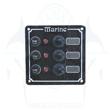 Imagem de Painel elétrico 3 botões - Cod.386