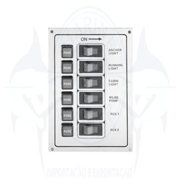 Imagem de Painel elétrico 6 botões - Cod.2204