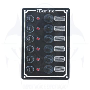 Imagem de Painel elétrico 6 botões - Cod.387